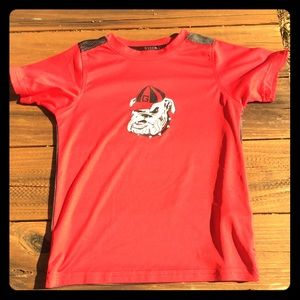 Russell activeware Georgia Bulldogs shirt